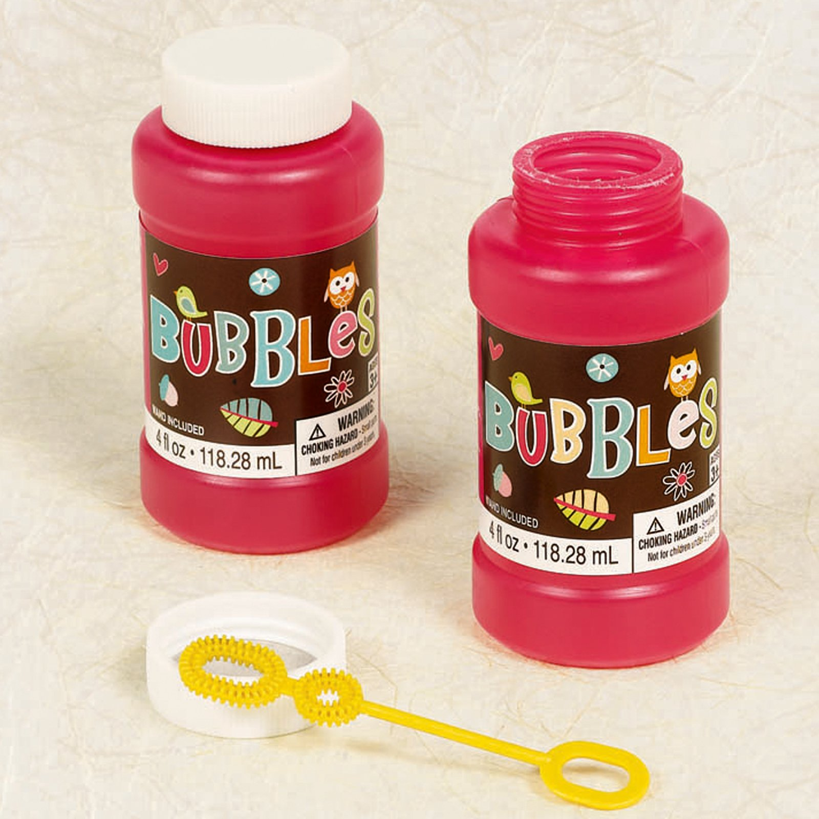 Hippie Chick Bubble Bottle (1 count)