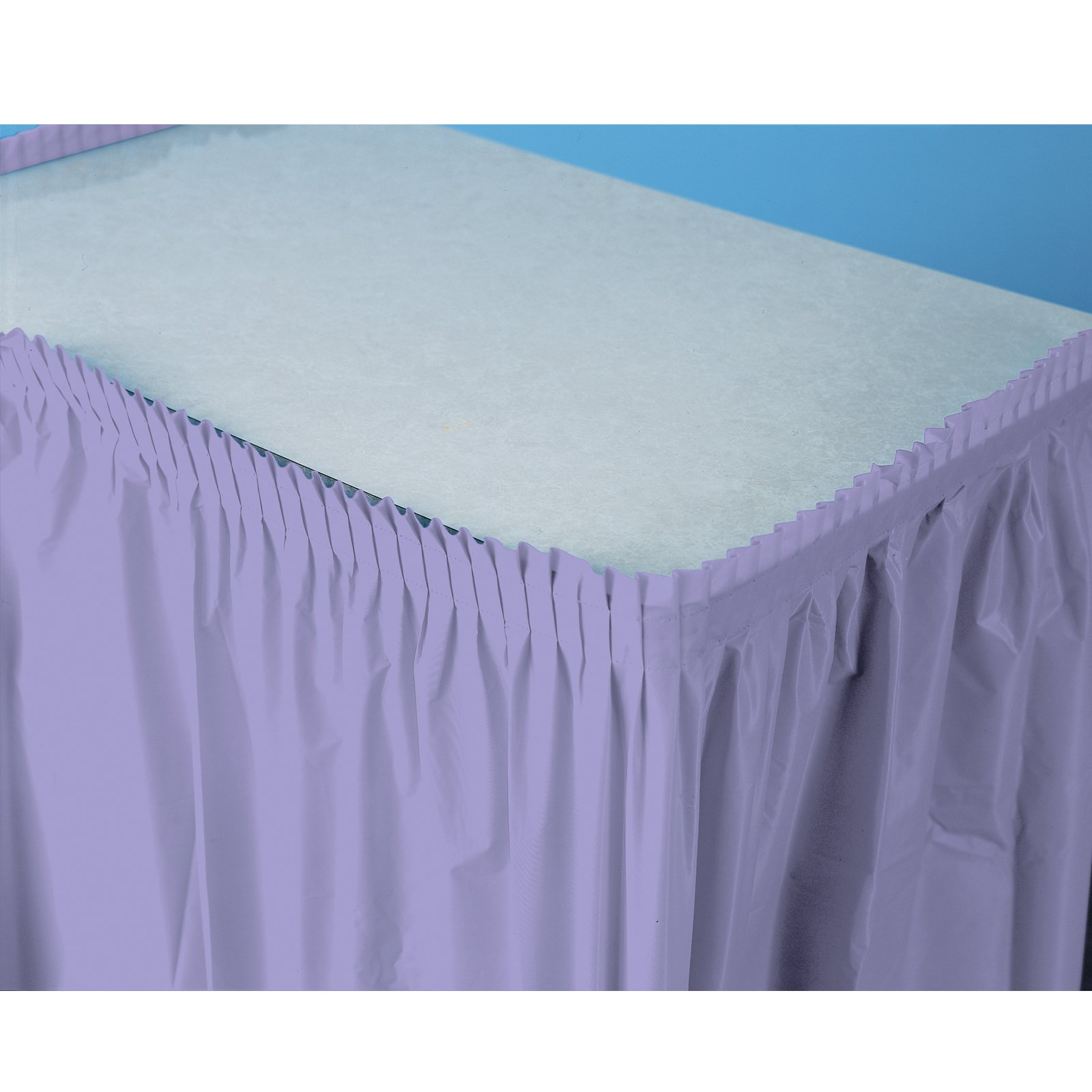 Luscious Lavender (Lavender) Plastic Table Skirt