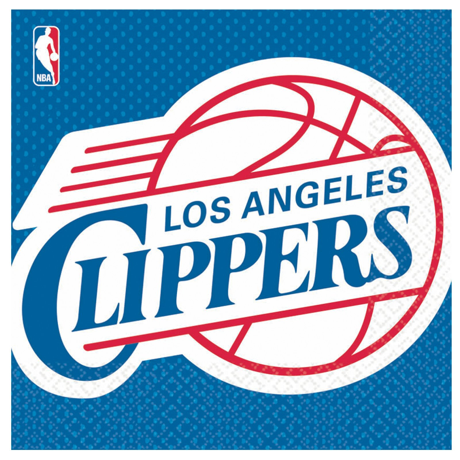Los Angeles Clippers Basketball - Lunch Napkins (16 count)