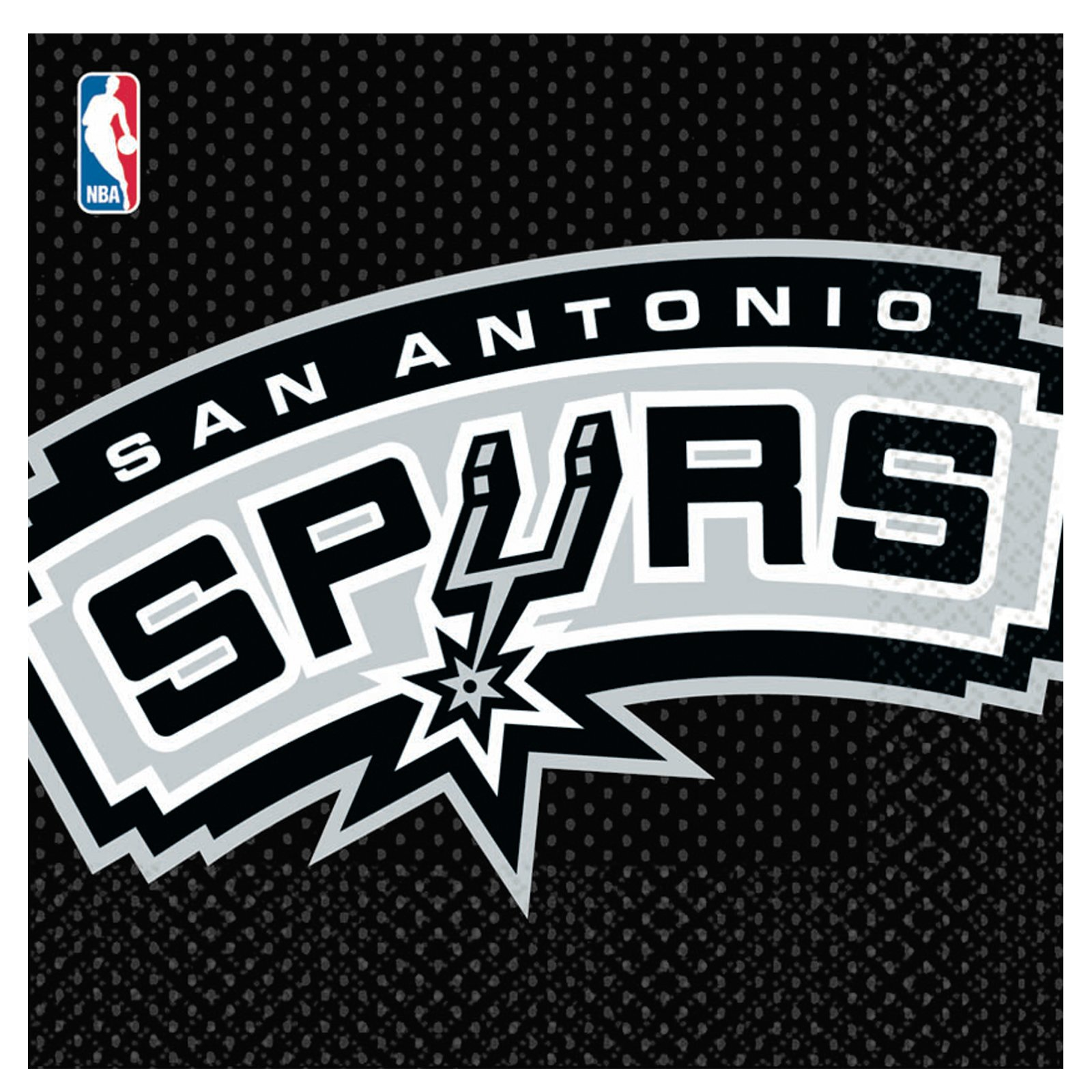 San Antonio Spurs Basketball - Lunch Napkins (16 count)