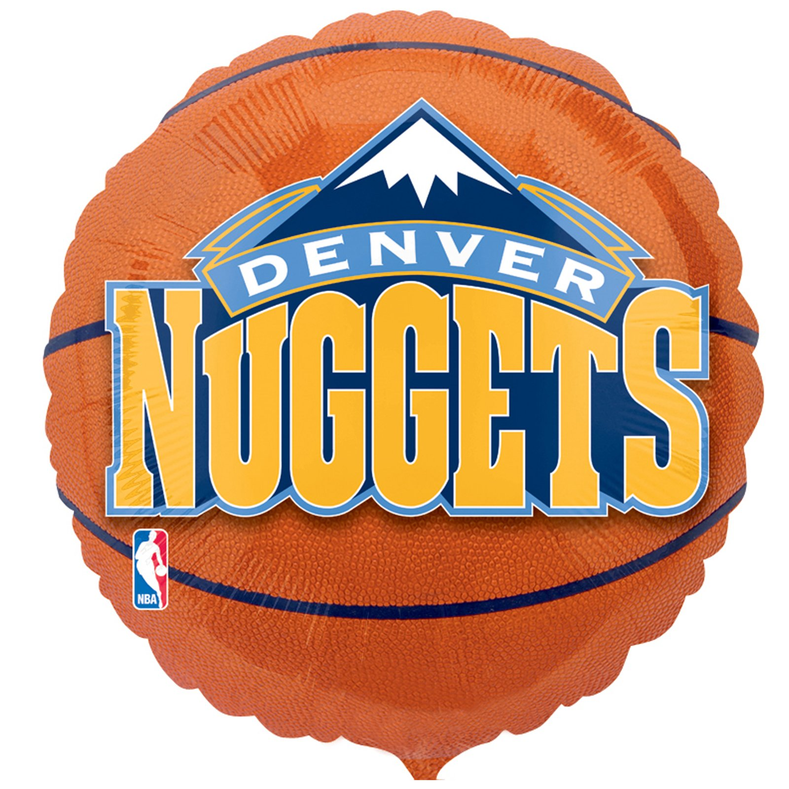 Denver Nuggets Basketball - Foil Balloon