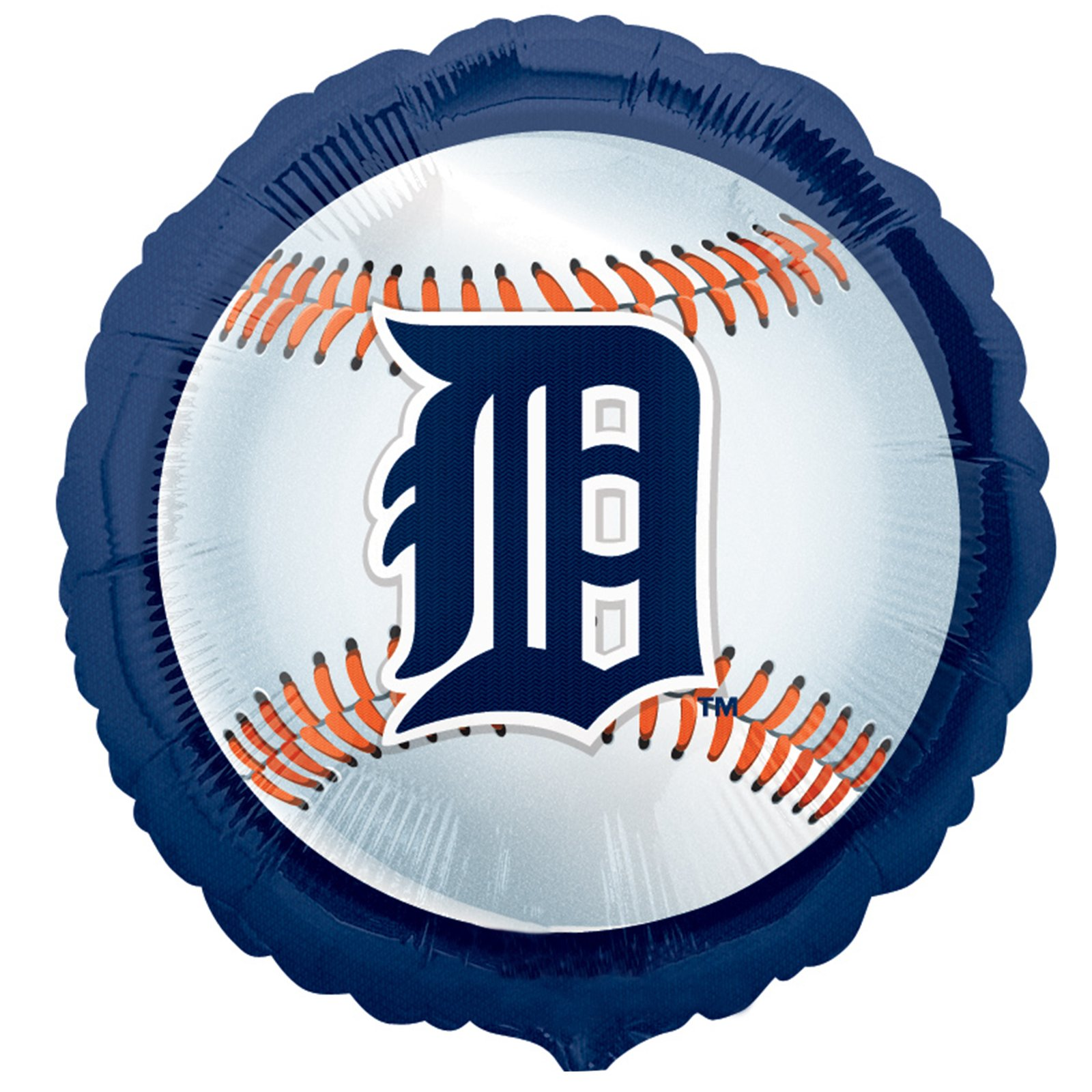 Detroit Tigers Baseball - Foil Balloon