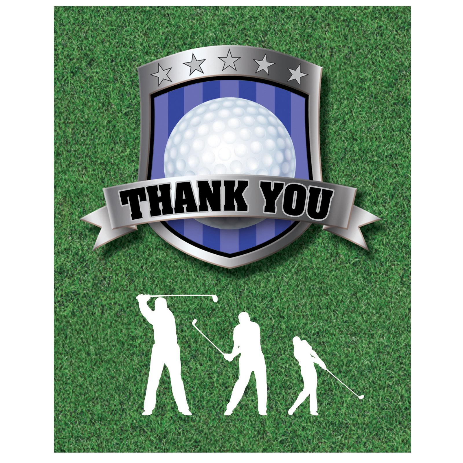 Golf - Thank You Cards (8 count)
