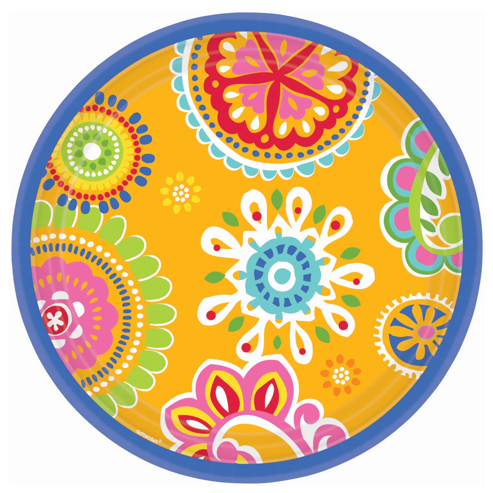 Cool Splash Banquet Dinner Plates (8 count)