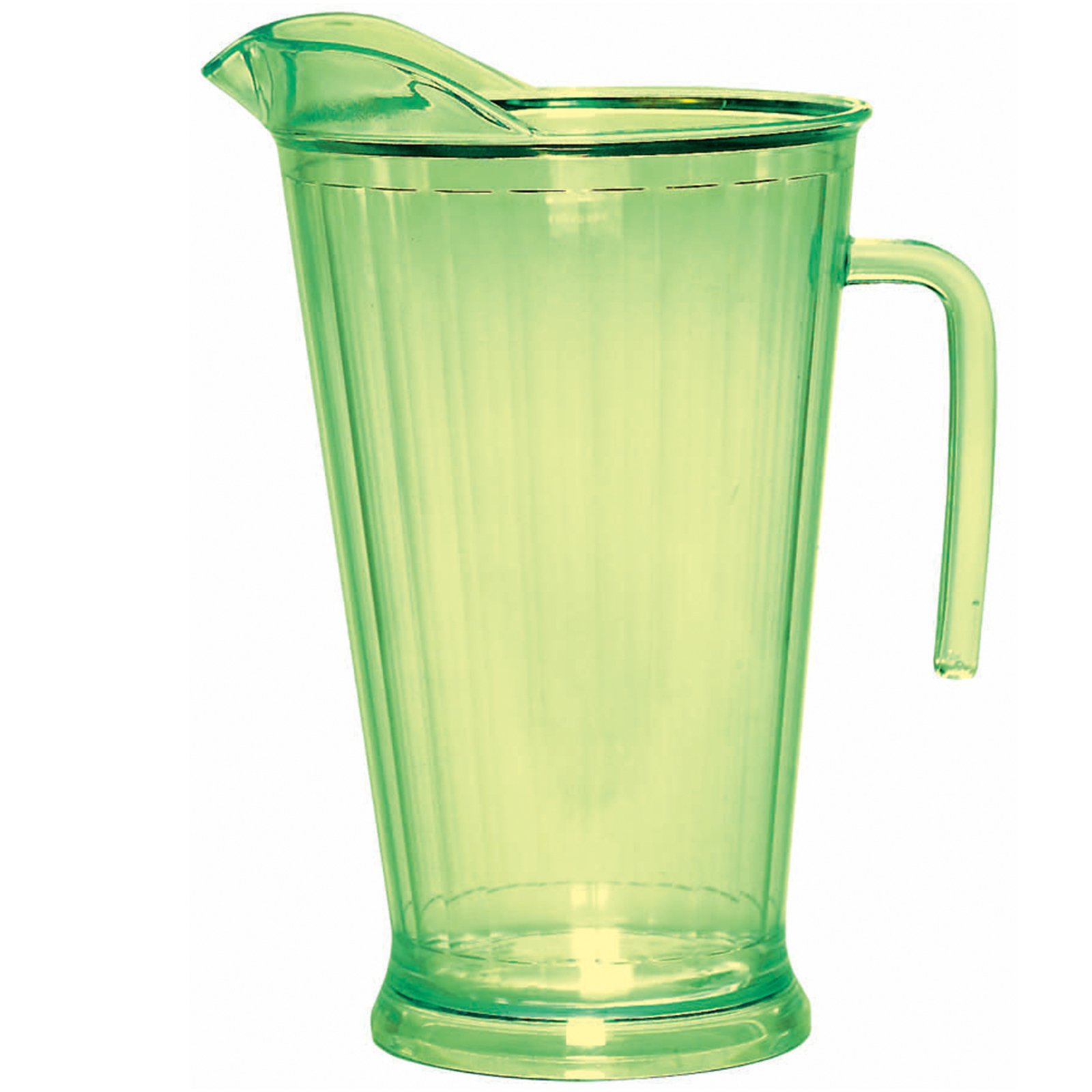 Lemon Lime 64 oz. Plastic Pitcher