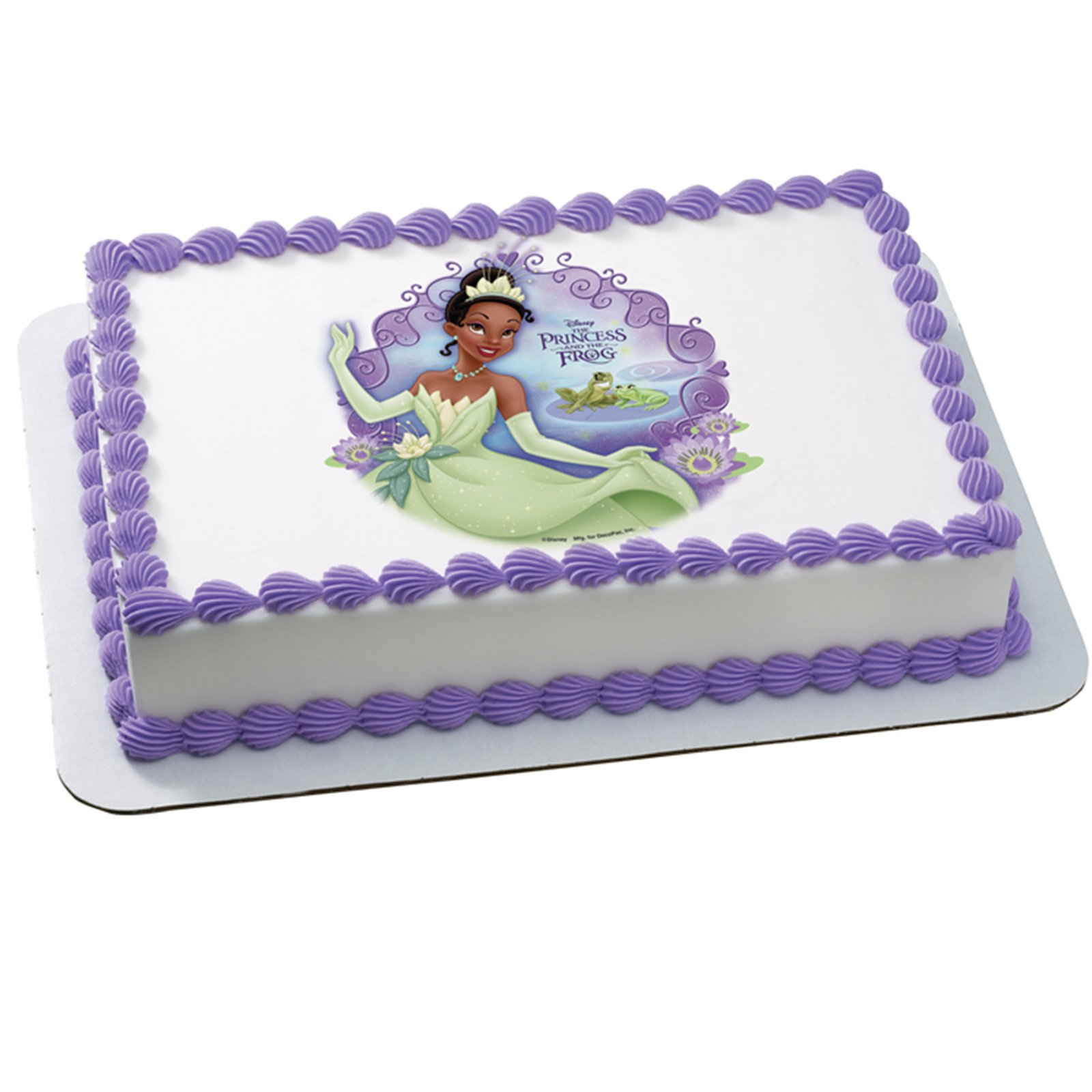 Disney Princess and the Frog Bayou Edible Icing Cake Topper