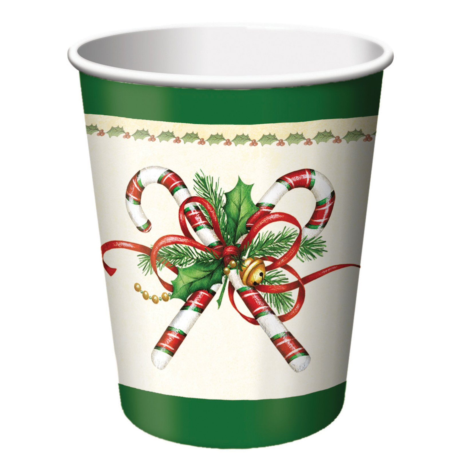 Splendid Tree Christmas 9 oz. Cups (8 count)