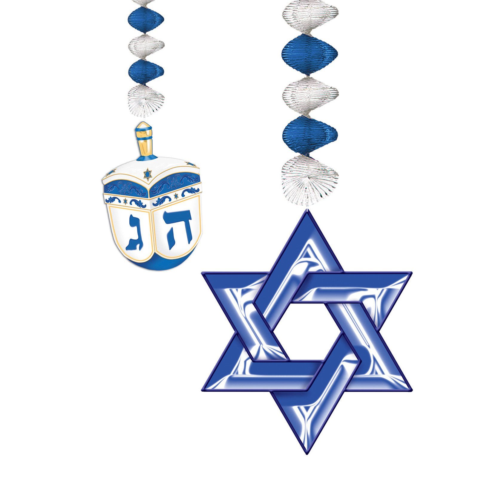 Hanukkah Danglers (2 count)
