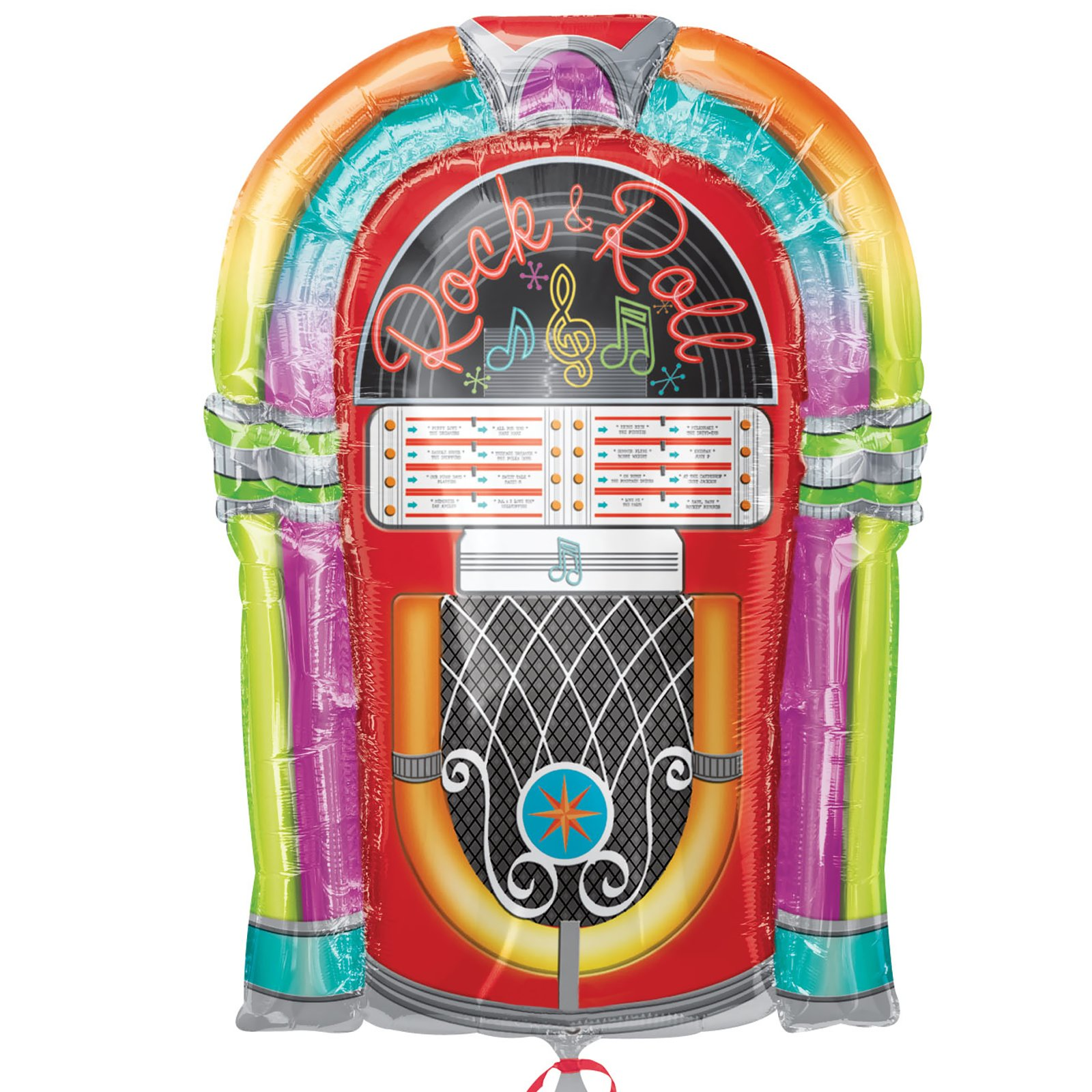 1950's Rock & Roll Jukebox - Jumbo Foil Balloon