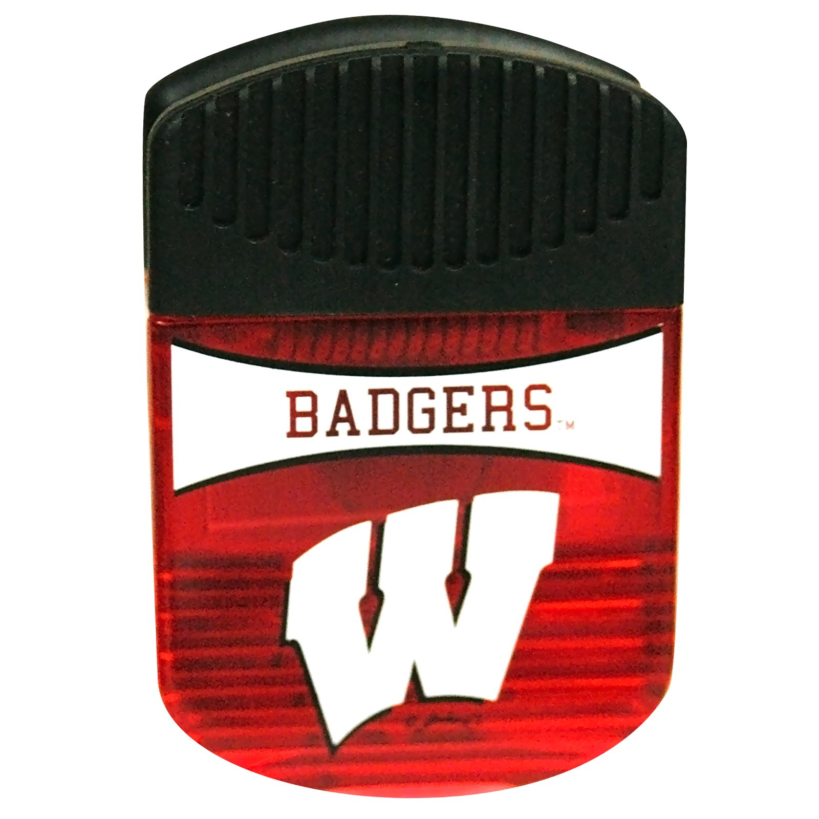 Wisconsin Badgers - Magnet Clip