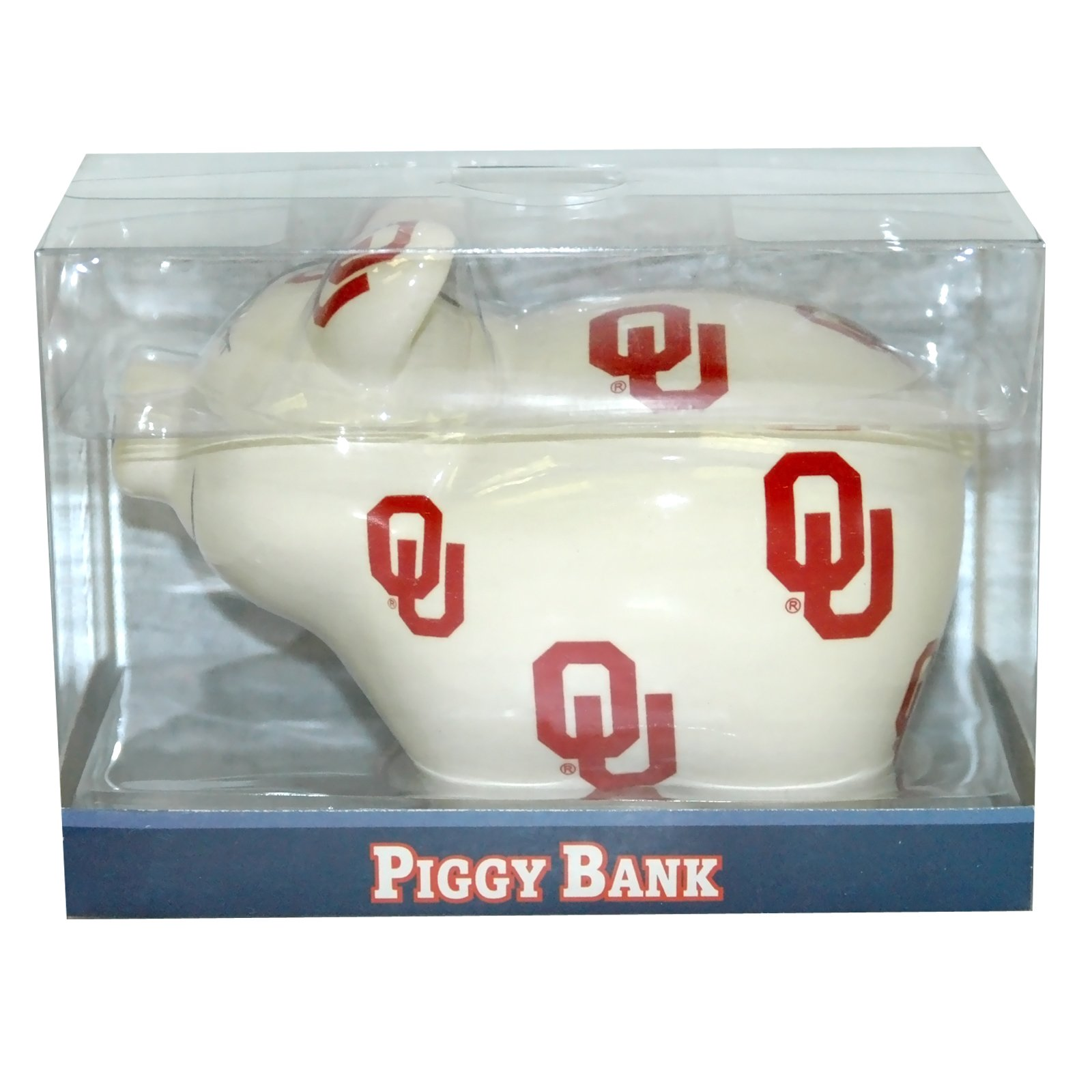 Oklahoma Sooners - Piggy Bank