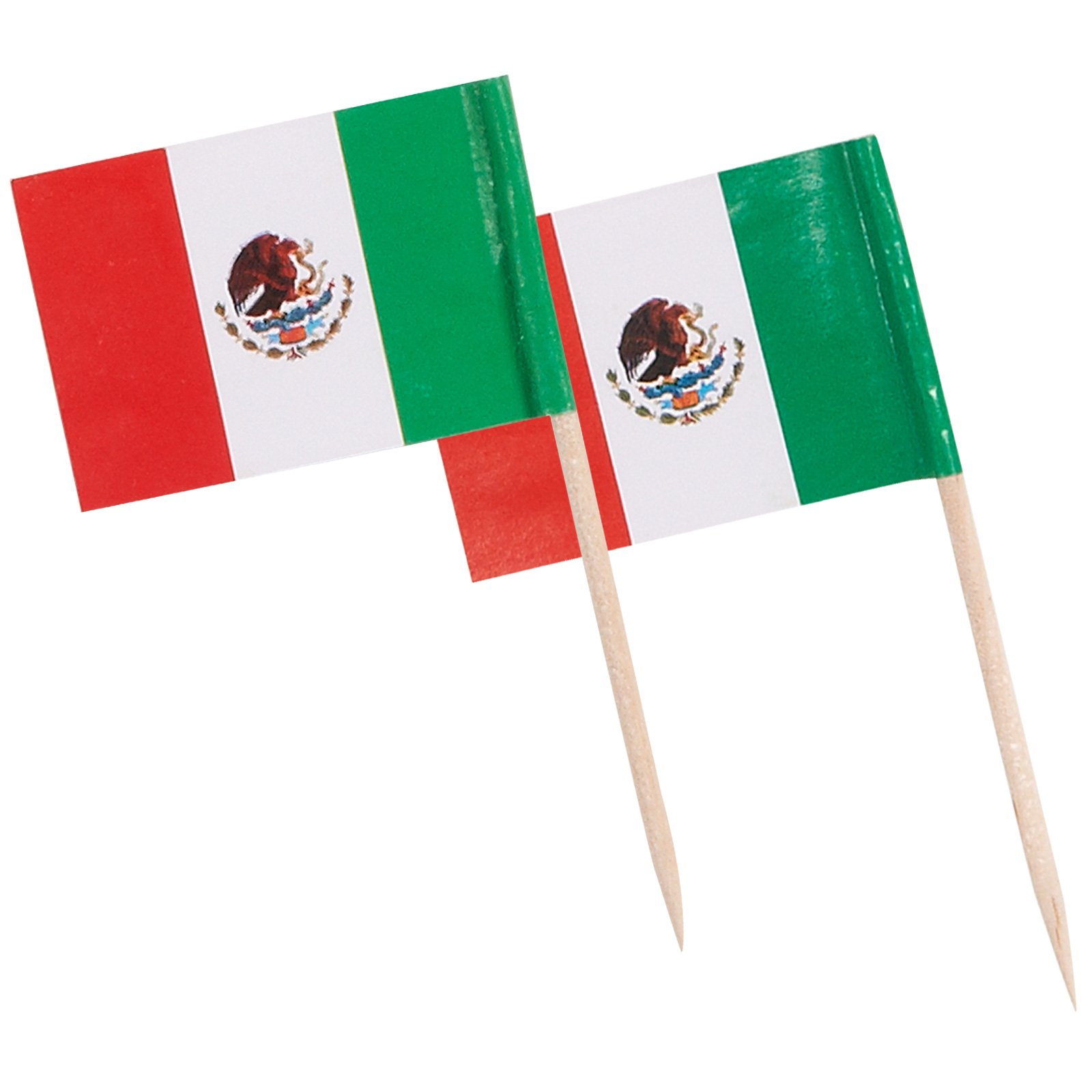 Mexican Flag Food Picks (144 count)