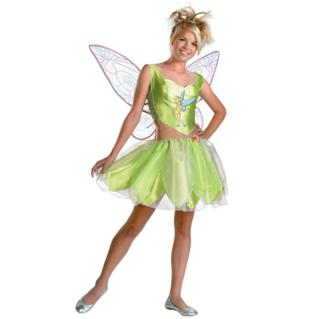 Disney Faeries Tinker Bell Tween/Teen Costume