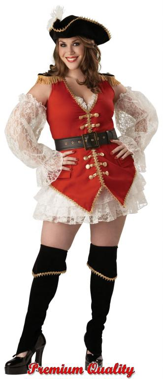 Pirate Treasure Plus Size Adult Costume