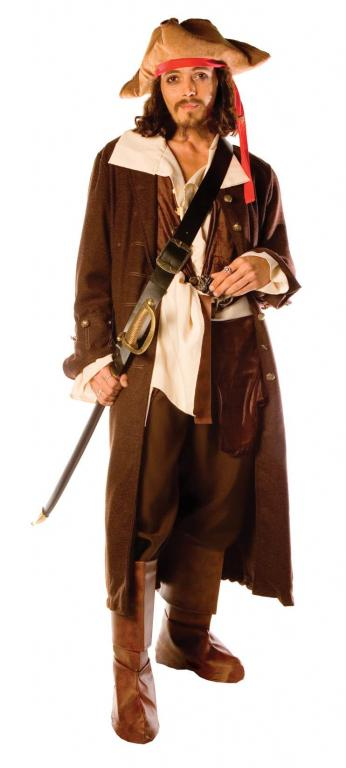 Captain Jack Men's Adult Costume