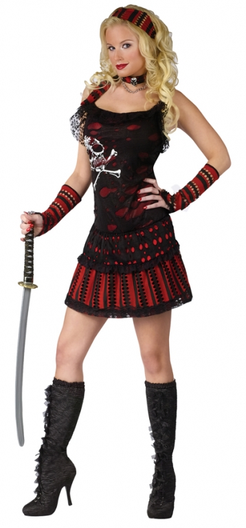 Skull Rocker Pirate Adult Costume