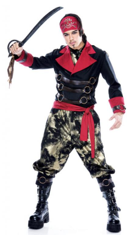 Apocalypse Pirate Adult Costume Large