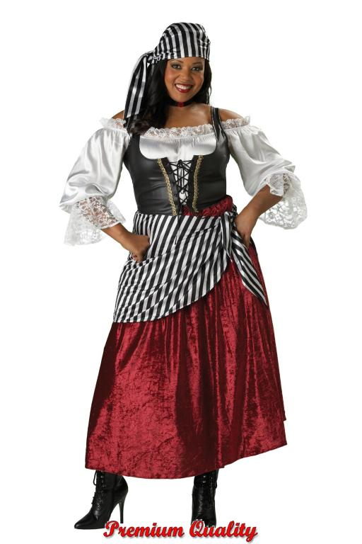 Pirate's Wench Plus Size Adult Costume
