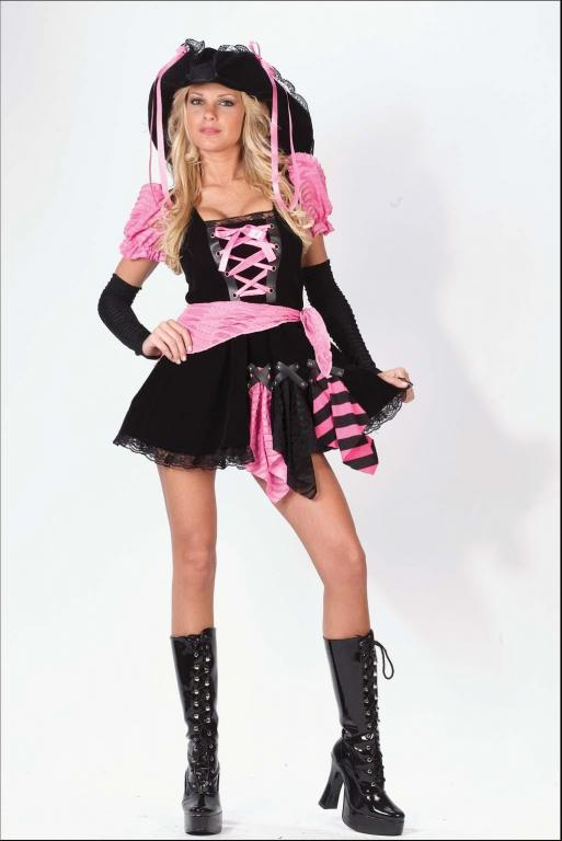 Pirate Punk Pink Adult Costume