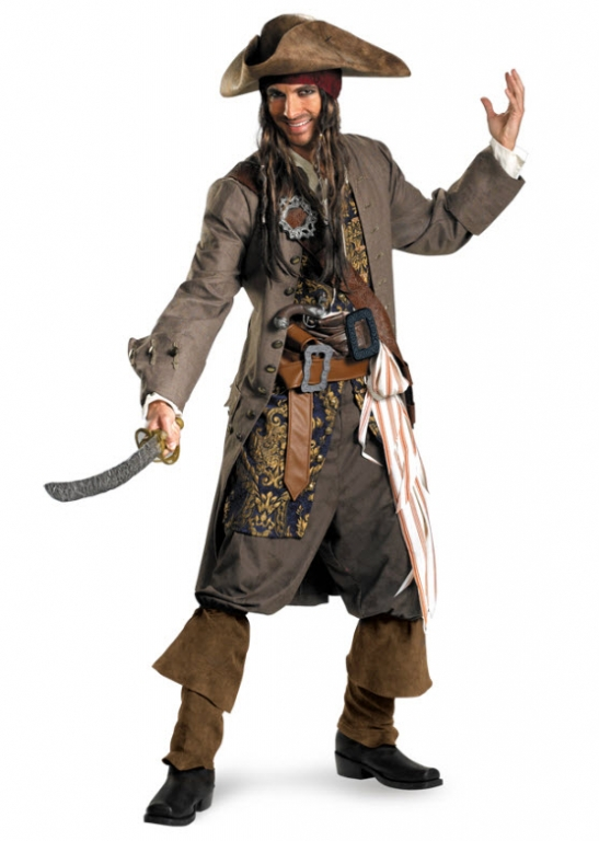 Jack Sparrow Rental Quality Costume