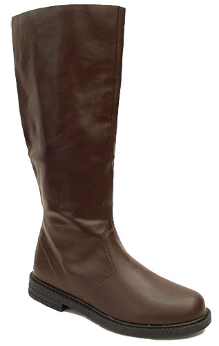 Adult Deluxe Brown Boots
