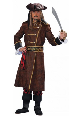 Captain John Longfellow Adult Costume