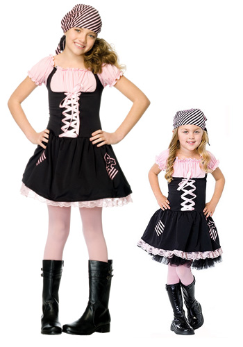 Kids Treasure Hunt Pirate Costume