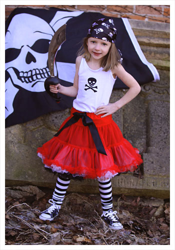 Child Tutu Pirate Costume