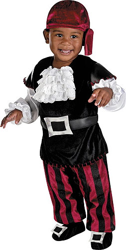 Boy's Puny Pirate Costume