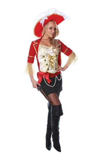 Lace Pirate Adult Costume