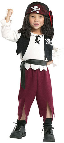 Pirate Captain Yarn Baby Costume