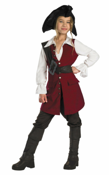 Pirates of the Caribbean 3 Elizabeth Pirate Deluxe Child (2007)