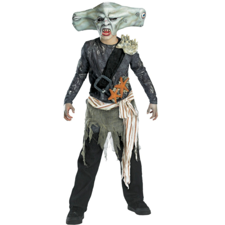 Pirates of the Caribbean 3 Maccus Sharkman Child Costume