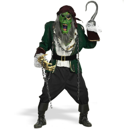 Zombie Pirate Walk-Around  Adult Costume