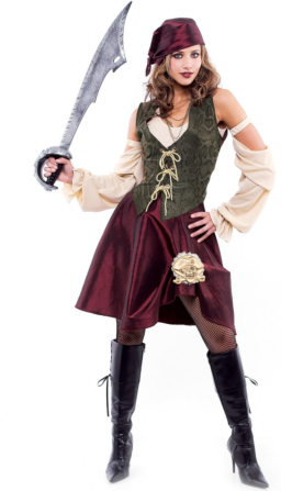 High Seas Pirate Adult Costume