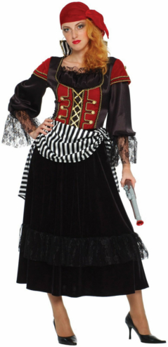 Treasure Pirate Wench Adult Costume