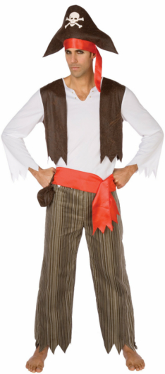 Pirate Swashbuckler Adult Costume