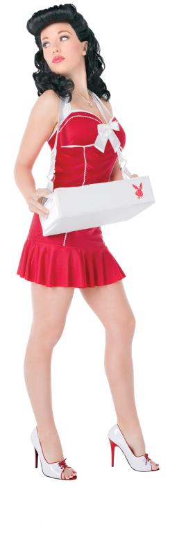 Playboy Cigarette Girl Adult Costume