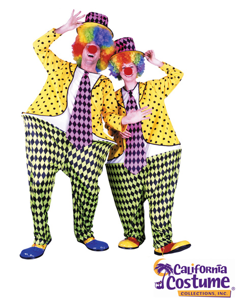 Hoop Clown Standard Costume for Adult