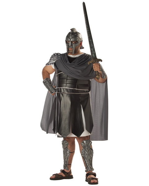 Mens Plus Size Centurion Costume