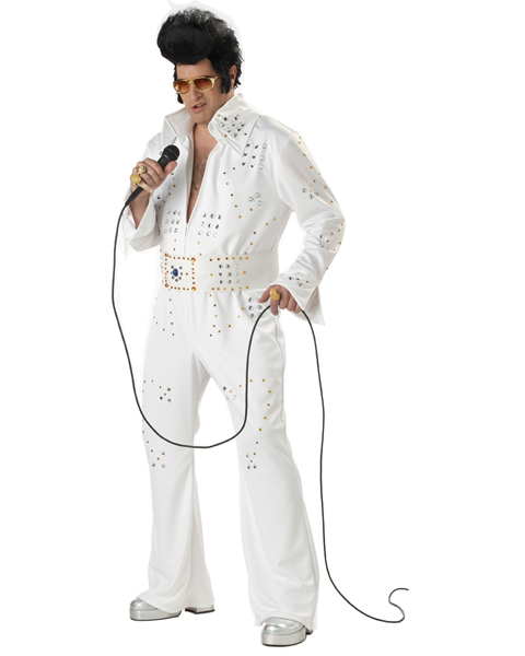 Mens Plus Size Rockstar Legend Costume
