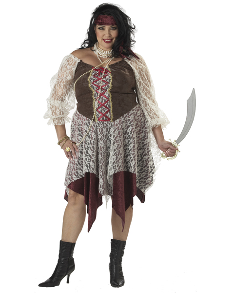 Plus Size South Seas Siren Pirate Costume