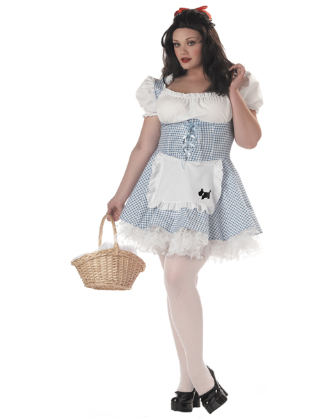 Adult Plus Size Storybook Sweetheart Costume