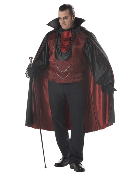 Count Bloodthirst Adult Plus Costume