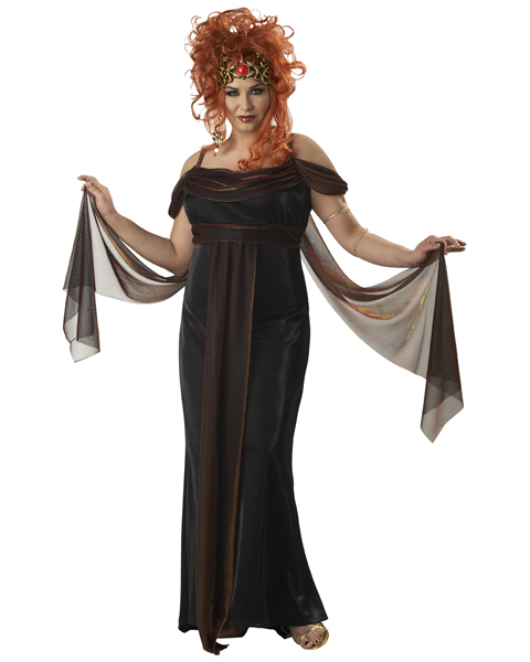Plus Size Medusa The Mythical Siren Costume