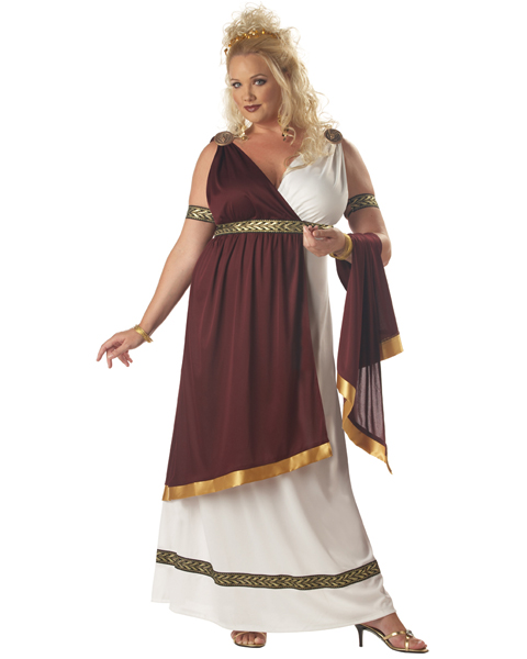 Womens Plus Size Roman Empress Costume