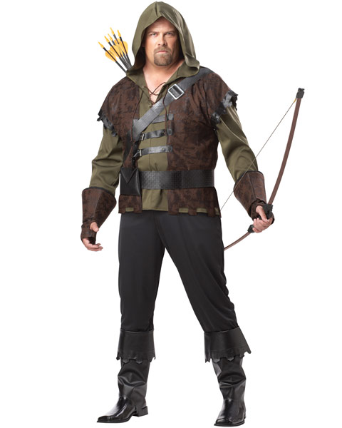 Plus Size Robin Hood Mens Costume