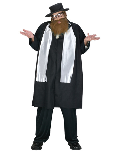 Rabbi Plus Size Costume