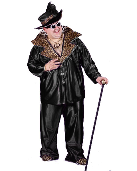 Mens Plus Size Big Daddy Costume