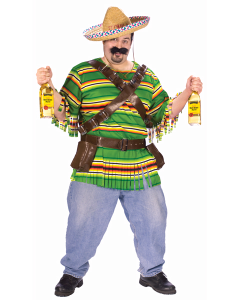 Plus Size Tequila Pop & Dude Costume